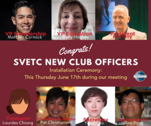 2019 club officers